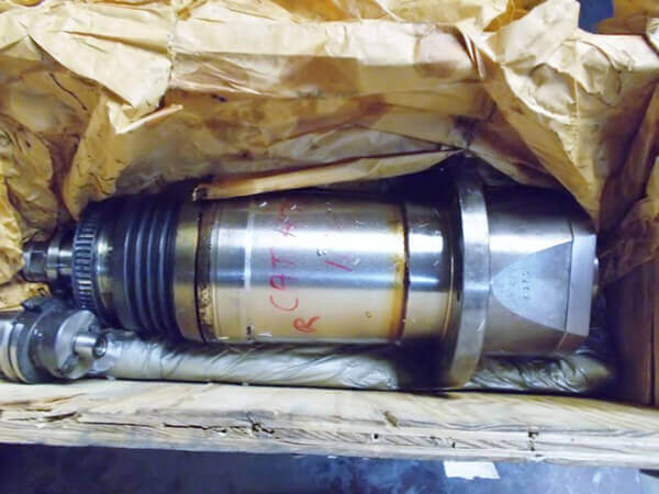 Bridgeport-3020-VMC-spindle-as-received. Bridgeport Spindle Repair