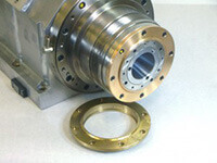 HST manufactured a new air knife for this CMS Brembana spindle