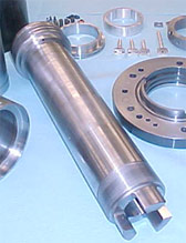 Niigata Spindle Repair. Repaired Niigata shaft ready for installation.