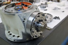 Mazak Integrex Series Spindle Repair. Mazak Integrex 300 being repaired_1