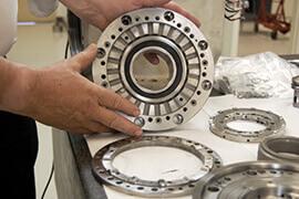 Mazak Integrex spindle repair and rebuild_arrayed detents
