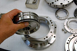Mazak Integrex spindle repair and rebuild_hydraulic actuator
