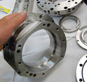 Mazak Integrex spindle repair and rebuild_hundreds of orifices are meticulous cleaned