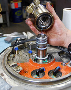 Mazak Integrex spindle repair and rebuild_pressure testing_1
