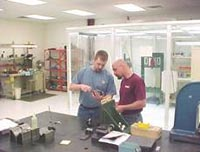 At High Speed Technologies our technicians work together as a team.