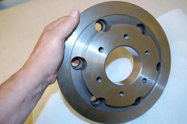 Doosan spindle repair adaptor plate