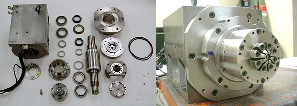 Tsugami BU-38-SY Swiss lathe Spindle Repair parts