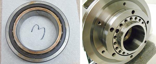 Hardinge lathe spindle repair bearing face - GPG