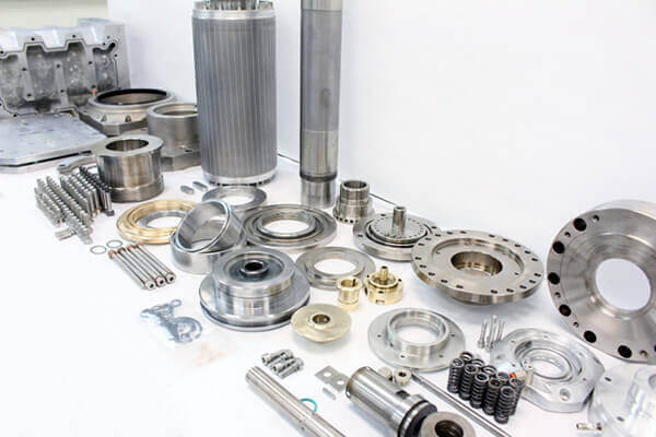 Parts for a Saccardo spindle repair