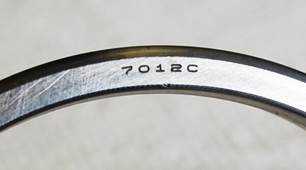 Bearing Number