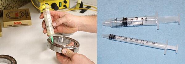 Grease Lubrication Bearing_Lubrication syringe