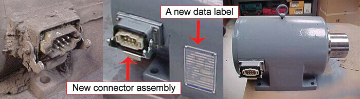 Boneham spindle repair connector assembly_new data label