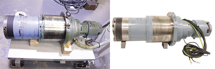 Toyoda Spindle Repair before_after