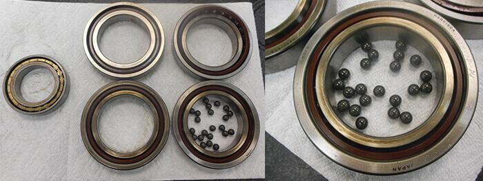 Toyoda spindle repair_bearings