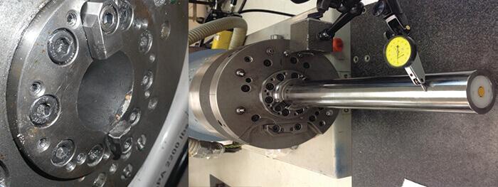 Toyoda spindle repair_drawbar taper_testing