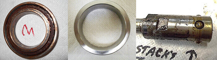 Matsuura Spindle Repair_bearings