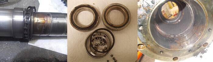 Matsuura Spindle Repair_bearings_taper ID