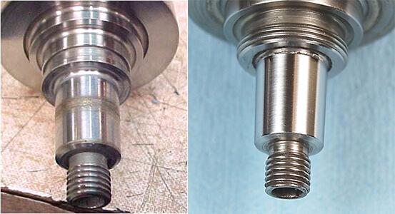 Air Bearing spindle repair and rebuild_broken taper