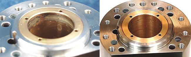 Air Bearing spindle repair and rebuild_radial bearing