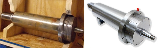 Air Bearing spindle repair and rebuild_Disco Backgrinder before and after