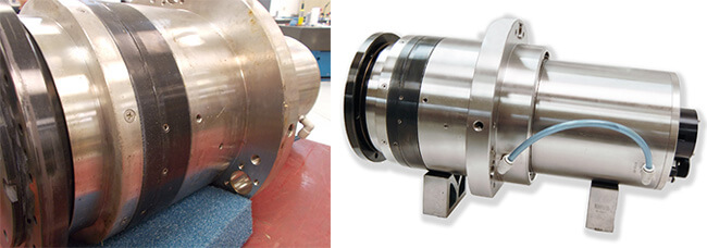 Air Bearing spindle repair and rebuild_Disco NCP00019 before and after