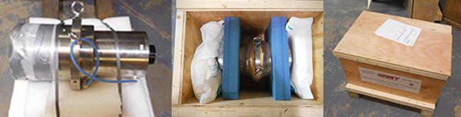 Air Bearing spindle repair and rebuild_Disco NCPZ010019-20_shipping