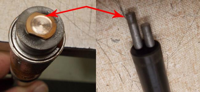 Disco NCP00027 Air bearing spindle repair and rebuild_carbon brushes contact