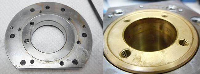 Disco NCP00032 Air bearing spindle repair and rebuild_oil found in air jets