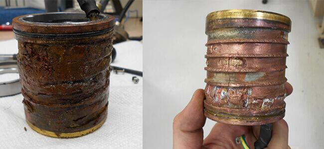 Disco NCP00043 Air bearing spindle repair and rebuild_coolant jacket