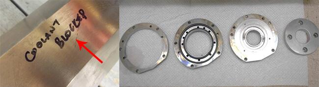 Disco NCP00043 Air bearing spindle repair and rebuild_coolant leak