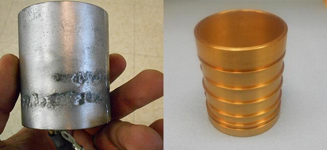 Disco NCP00043 Air bearing spindle repair and rebuild_stator_stator jacket