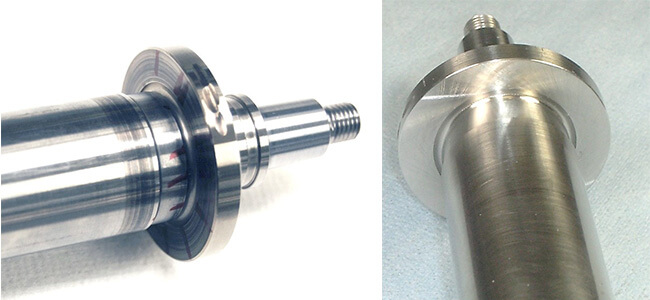 Spindle repair and rebuild_shaft thrust surface