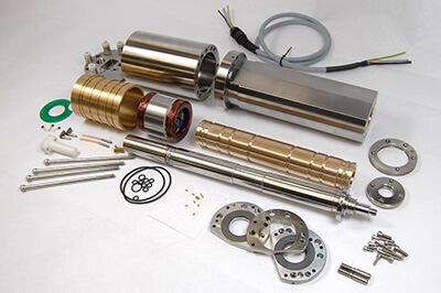 Disco spindle repair and rebuild_disassembled
