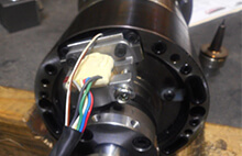 Mitsubishi spindle repair and rebuild_encoder head and target