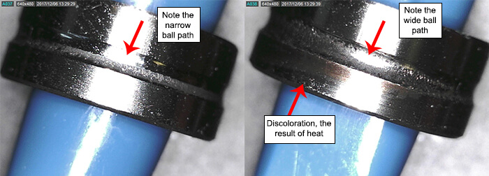 Seiko Seiki Spindle Repair and Rebuild_#1 bearing failure