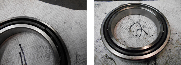 Hyundai-Wia Spindle Repair and Rebuild_bearing failure