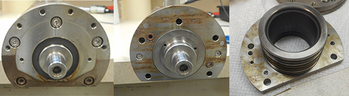 Accretech spindle repair and rebuild_moisture contamination