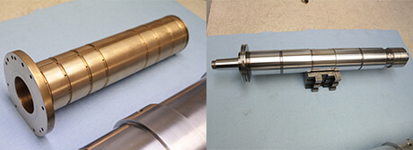 Loadpoint Spindle Repair and rebuild_radial bearing and shaft